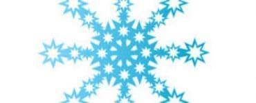 Как сделать из бумаги объемную снежинку